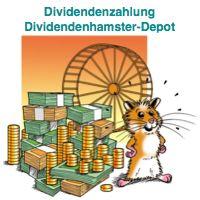 Dividendenzahlung Monatsbericht September 2015