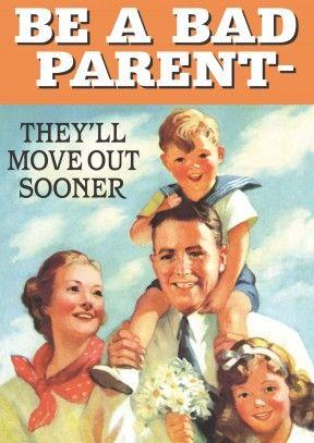 Bad Parent | Funny Card: