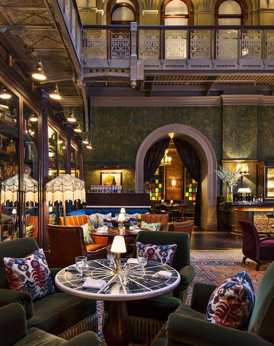 Off Menu Exemplary Restaurant And Bar Interiors Bar Interior