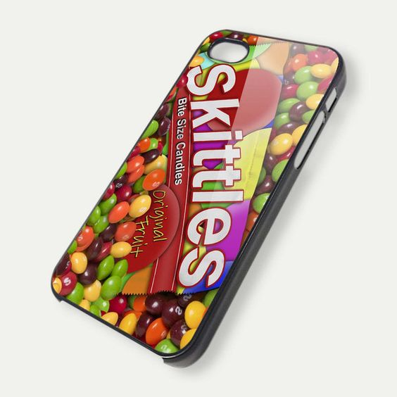 Skittles Candy Wrapper 1 4/4s/5/5c/5S,galaxy s3/s4 case – Slimot