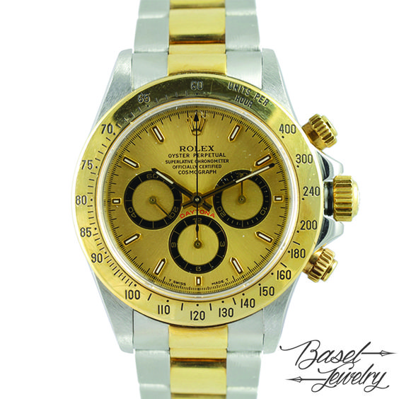 二手勞力士代托納型金盤系列 PRE-OWNED ROLEX 16523 DAYTONA GOLD DIAL-EW04168 HKD 69,800.00 USD 9,018.00