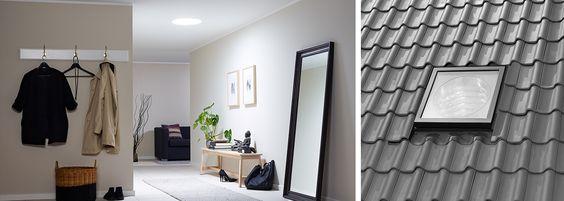 VELUX Tageslichtspot - Tageslichtlampe - Tageslicht für innen liegende Räume