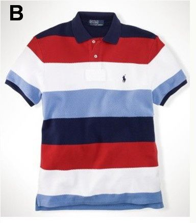 Ralph Lauren Custom Leisure Breathable Cotton Color Stripe Polo 3 is on promation, don\u0026#39;t loss the chance.