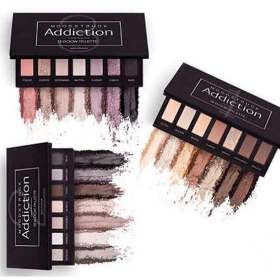 Younique cosmetics Moodstruck Addiction Palettes