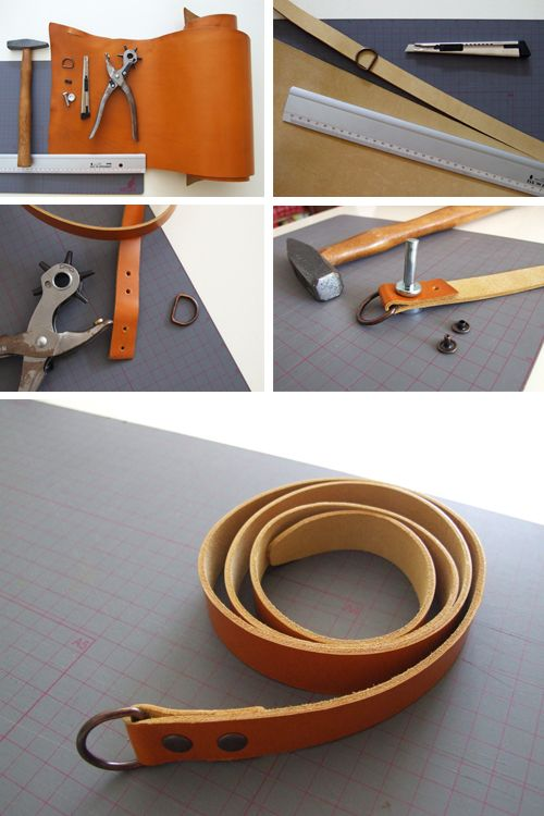 how to make a belt make it craft s