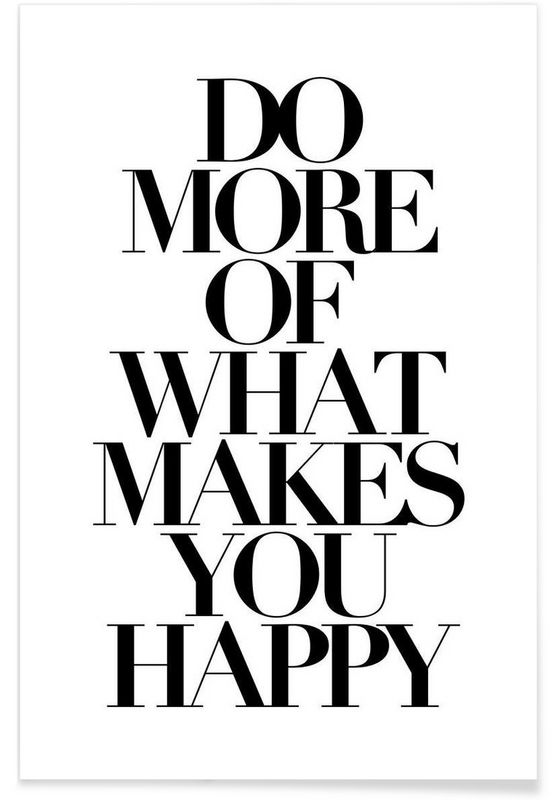 do more als Premium Poster door Mottos by Sinan Saydik | JUNIQE