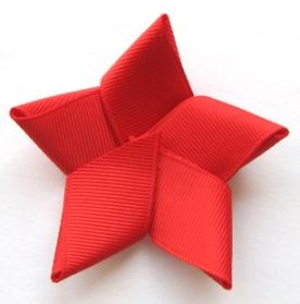 Hair bow instruction (Cute for 4th of July!)
