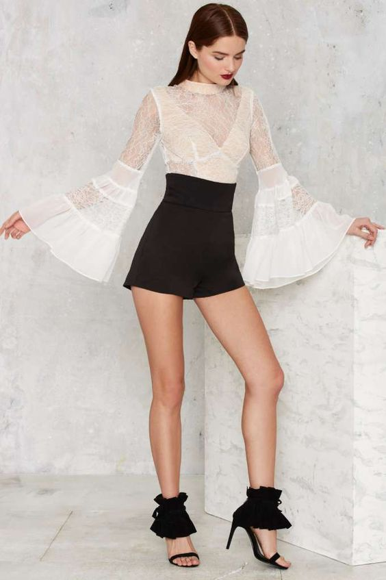 Nasty Gal Victorian Secret Crop Top - Newly Added   Tops