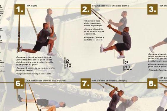#ClippedOnIssuu from TRX: guía de ejercicios