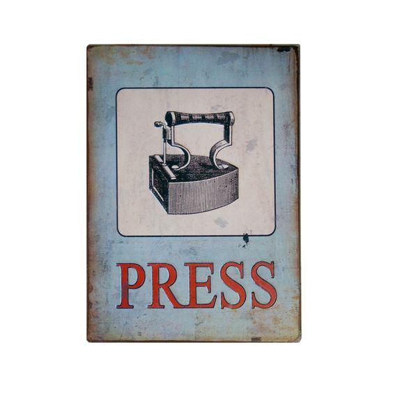 Press Laundry Room Print