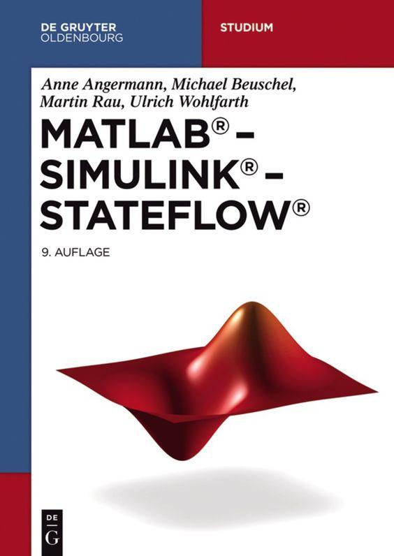Matlab Simulink Stateflow Ebook Book Club Books De Gruyter Top Books