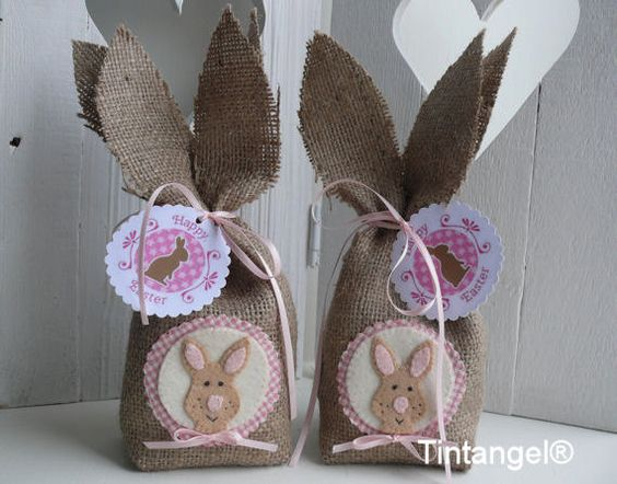 Happy Easter bags- DIY kit