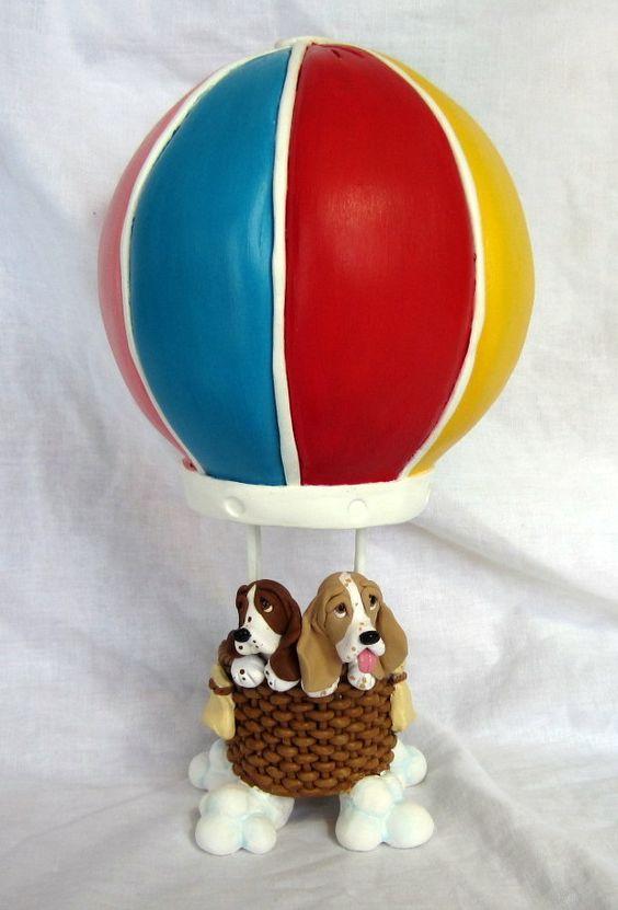 Hot Air Balloon Wedding Cake Topper:  www.laurievalko.com