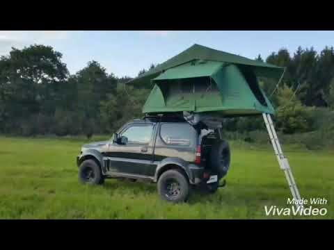 Suzuki Jimny Mit Primetech Wasteland Dachzelt Thejimnydiaries Youtube Suzuki Jimny Roof Tent Suzuki