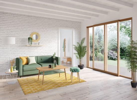 Tapis 150x200 Cm Preston Jaune Tapis Salon Et Chambre But En 2020 Canape Vert Canape Convertible Tissu Vert