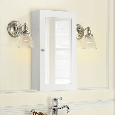 Ronbow Alina 17 99 X 28 98 Recessed Or Surface Mount Framed