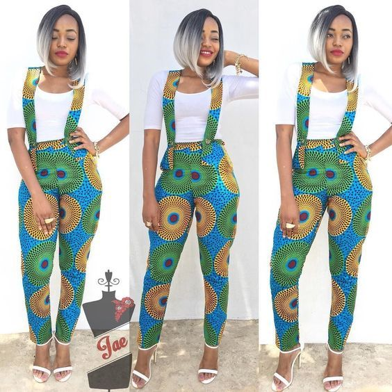 Very Stylish ankara jumpsuit styles for women in 2018 trendy ankara jumpsuit styles for ladies ankara ankarastyles asoebi asoebibella africanfashion africanprint