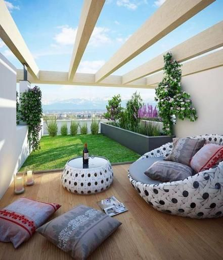 43+ Ideas Garden Rooftop Terrace Spaces #garden