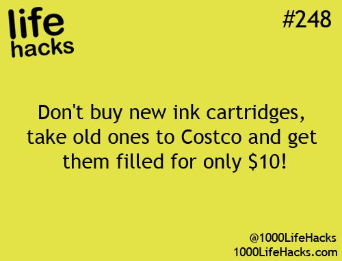 This has been one of the greatest yet super on the down low hack. Costco wants you to buy those new cartridges so you have to know they do it to get it done. Ain't no big signs at my Costco announcing this service.