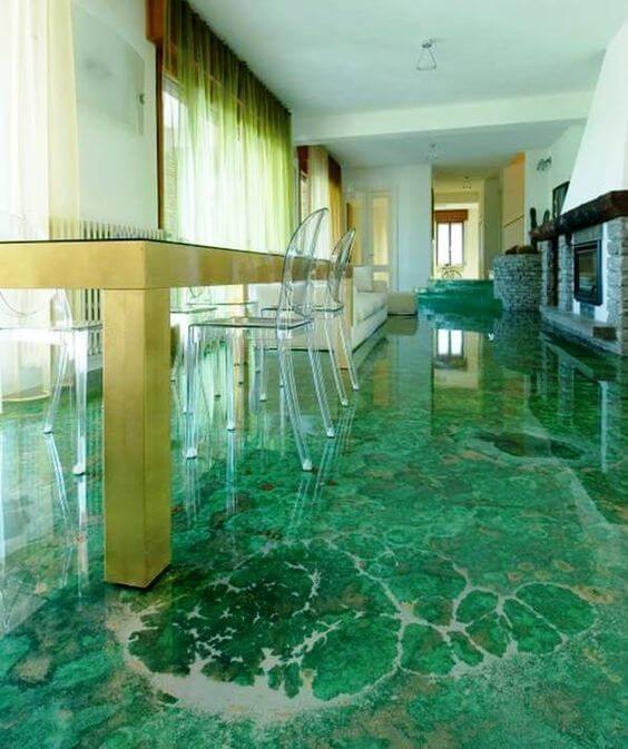 Decorative Concrete Floor A Complete Maintenance Guide Mit Bildern Dekorativer Beton Design Fur Zuhause Epoxidharz Boden