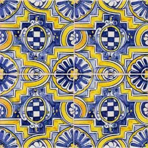 Victorian tiles spanish tile and tile murals on pinterest for Spanish decorative tile