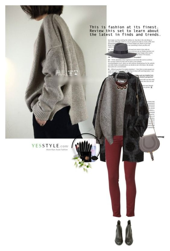 """""""Show us your Yesstyle"""" by sinsnottragedies ❤ liked on Polyvore featuring Zara, Paige Denim, Marni, Chloé, Acne Studios, Rebecca Minkoff, Etude House, Beauty, knitwear and yesstyle"""