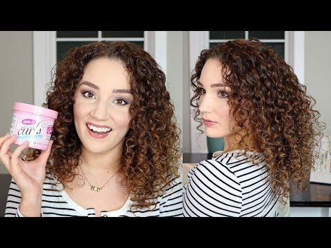 Review And Routine Using The Dippity Do Girls With Curls Gelee On 3b Fine Curly Hair How To Create Volume De Fine Curly Hair Hair Routines Curly Hair Routine