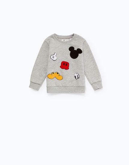Lefties - camisola estampada bordado disney - 0-812 - 01050804-V2016