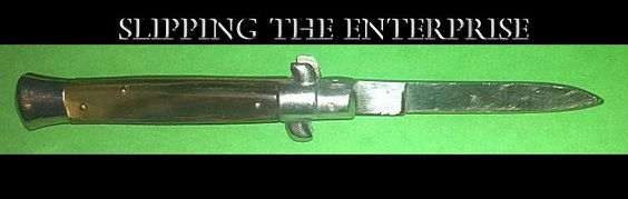 The switchblade I carried back then.