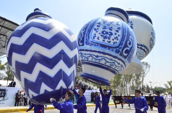 globos para desfile, replicas de talavera