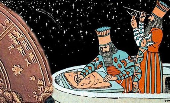 Onderzoek Naar Zonnestormen Door Oude Assyrische Astronomen