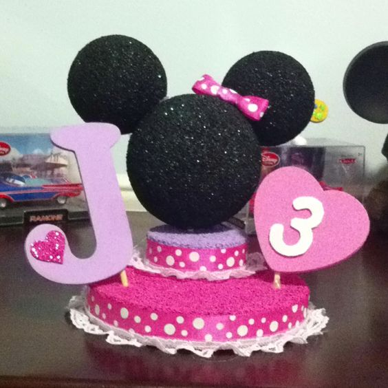 birthday centerpieces centerpieces and 3rd birthday on. Black Bedroom Furniture Sets. Home Design Ideas