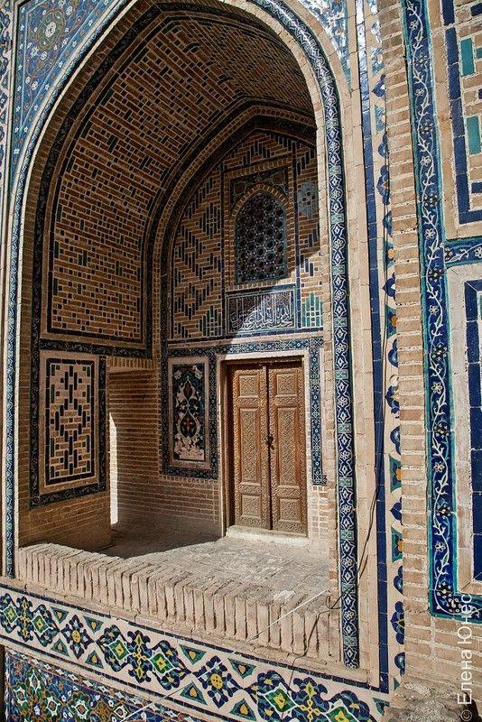 Samarkand Uzbekistan Arhitektura Pamyatniki Puteshestviya