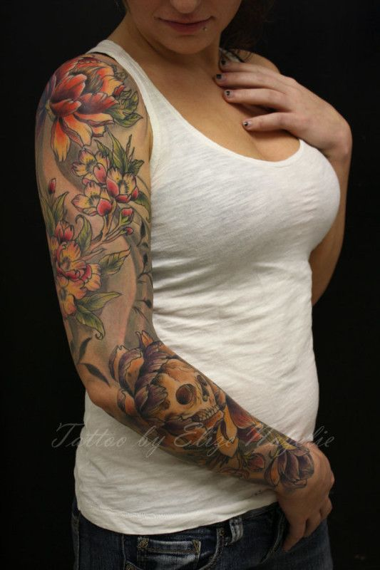 tatouage femme bras entier ry4y2 tatoo pinterest. Black Bedroom Furniture Sets. Home Design Ideas