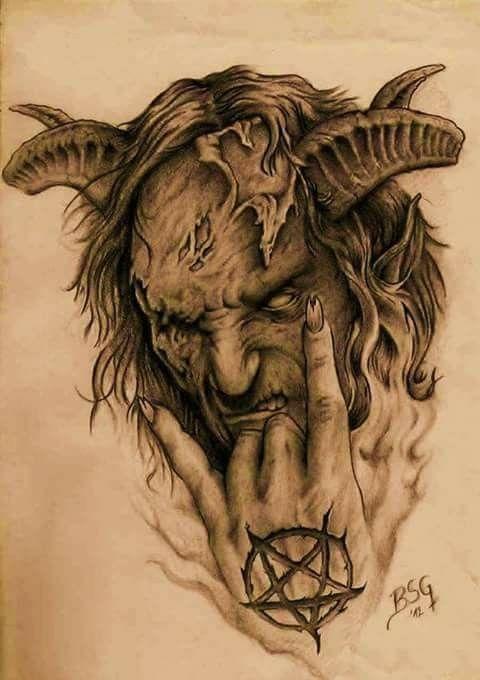 Diable Dessin Tatoo Recherche Google Diable Tatouage Tatouage Diable Meduse Dessin