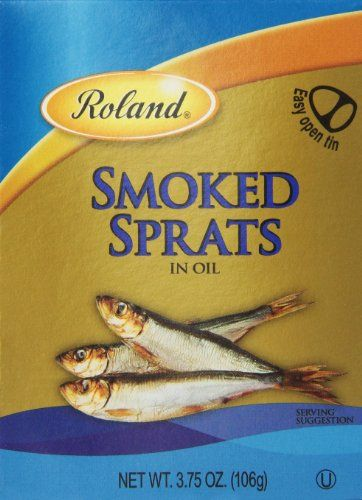 *** Sensational bargains just a click away: Roland Sprats, Smoked, 3.75 Ounce (Pack of 12) at Quick dinner ideas.