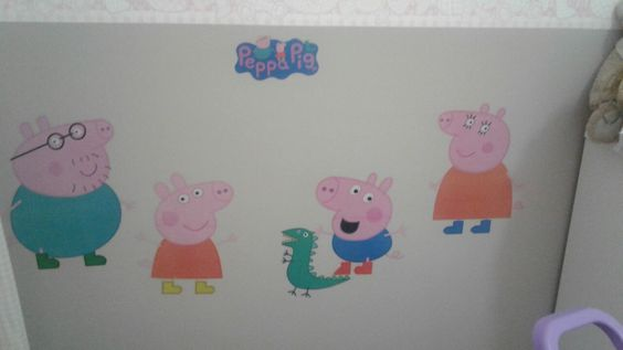 Quarto infantil  Peppa Pig