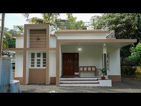 Beautiful Small Budget House Built For 17 Lakh Youtube In 2020 Small House Design Kerala Small House Design Plans Philippines House Design
