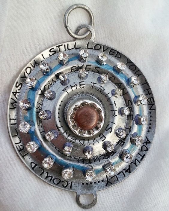 Industrial+Chic+Altered+Art+Silver+and+Rhinestone+The+by+CslayerD,+$4.99