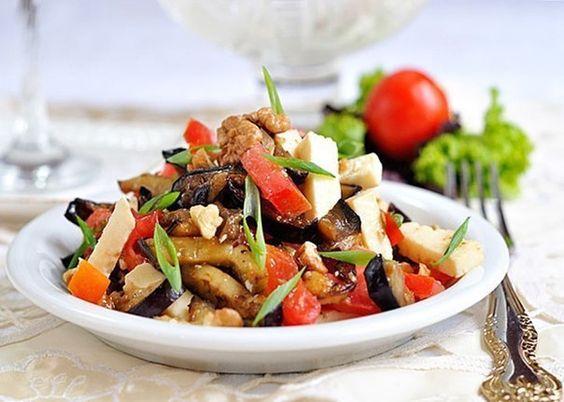 Салат из баклажанов6
