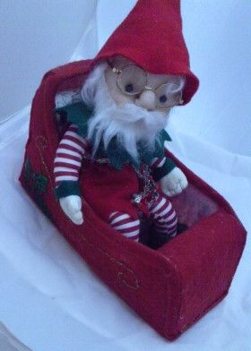 How to make Elf Doll  - DIY Craft Project from Craftbits.com