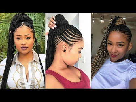 Latest Braiding Hairstyles 2020 Best Hair Complation For Ladies Fashion Style Braiding Hairstyles 2020 Best H In 2020 Hair Styles Braided Hairstyles Cool Hairstyles