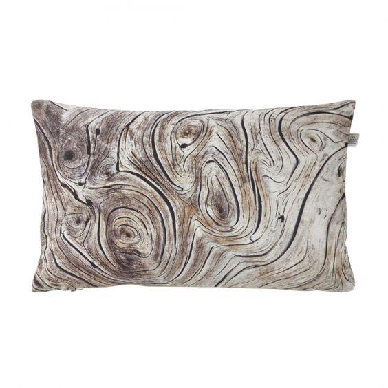 Kissenhülle Tree - Polyester - Braun - 30x50 cm