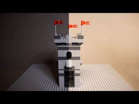 Lego Castle Tower Brick Building Funny Animation Instruction