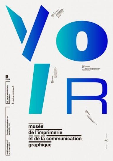 """Affiches """"anniversaire"""" pour le Musée de l'imprimerie de Lyon"""