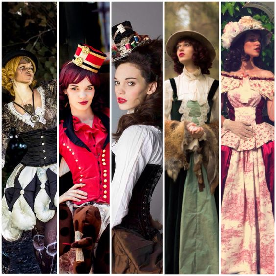 Costumes Mad'Hands doll steampunk steam original fantasy victorian fait main inspiration mécanique photographes divers : pierre Vermar, charlotte D, carre kawaii..)