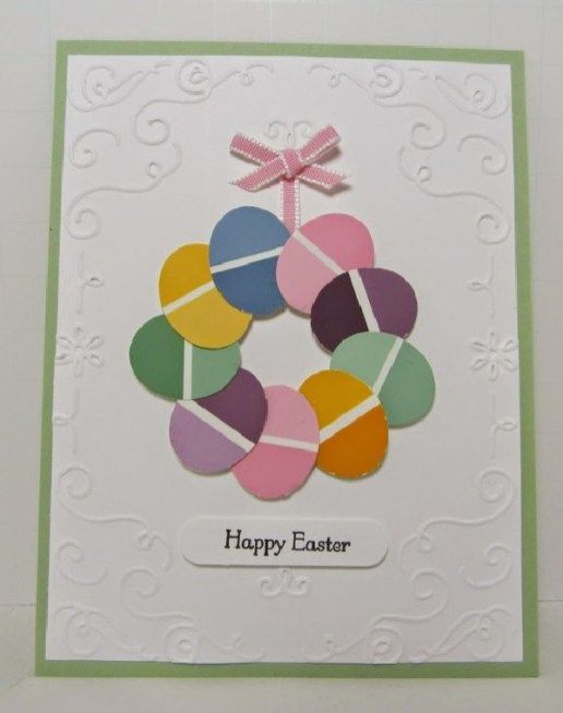 Fun Personalized Handmade Easter Card Designs 27 Easter Cards Handmade Diy Easter Cards Paint Chip Cards