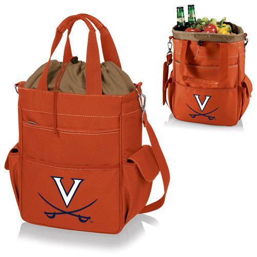 Activo Cooler Tote - Orange (University of Virginia - Cavaliers) Digital Print