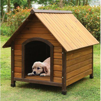 Tucker Murphy Pet Heady Dog House Dog Houses Wood Dog House