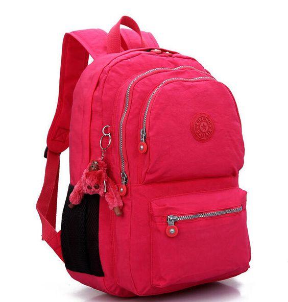 Bolsa De Ombro Escolar Feminina : Novas cores chegou mulheres kip mochila bolsa de ombro